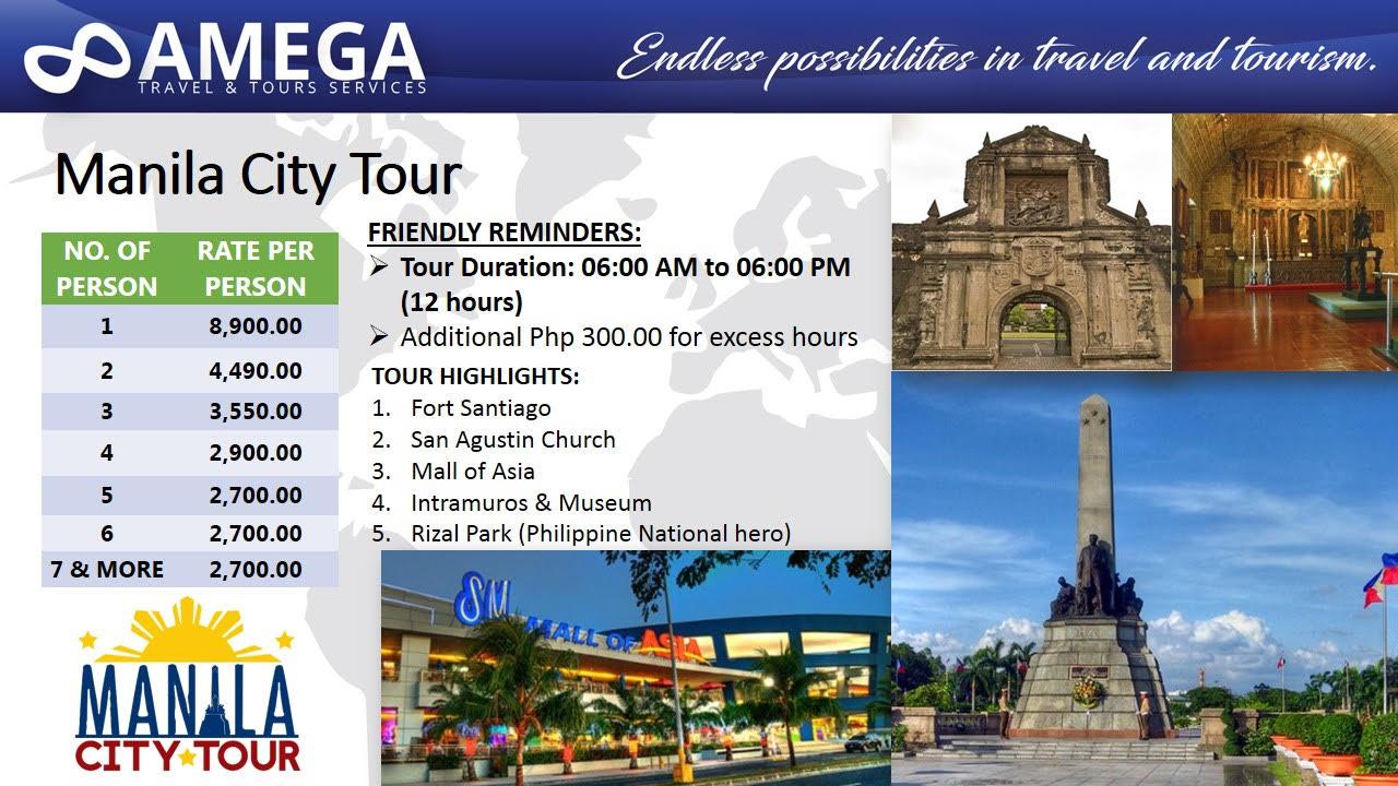 Amega Travel And Tours Pinatubo