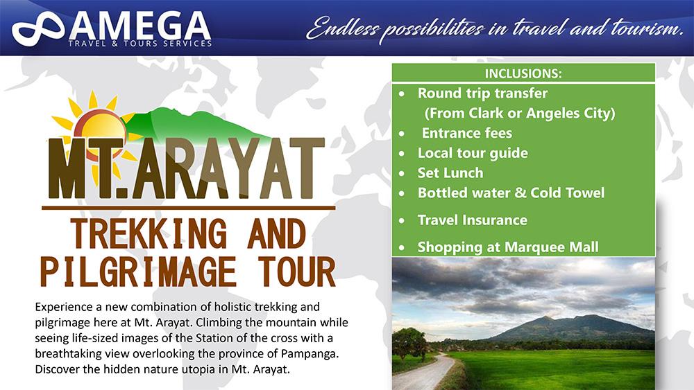 Mt. Arayat Tour