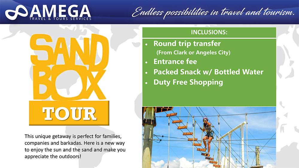 Sandbox Pampanga Tour