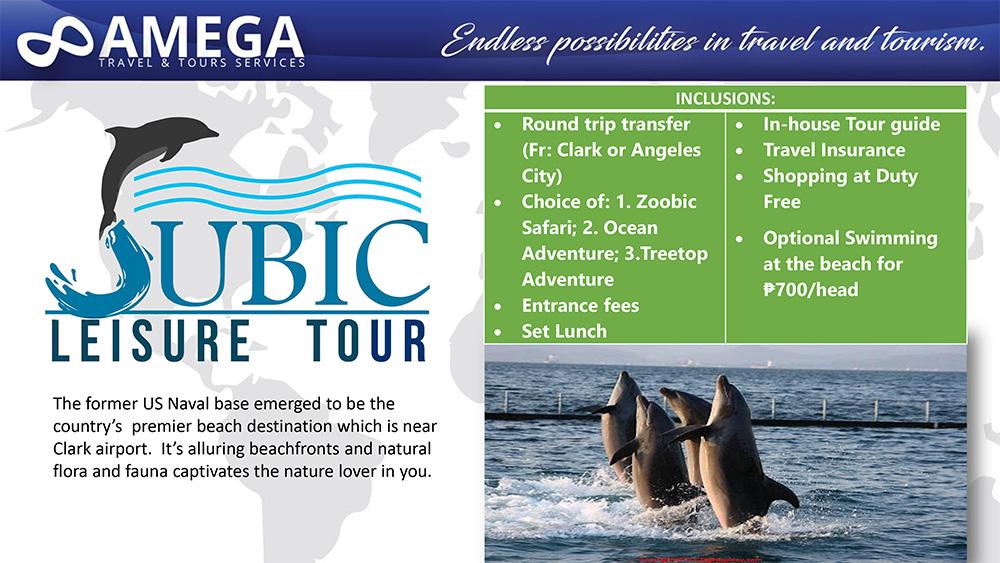 Subic Leisure Tour