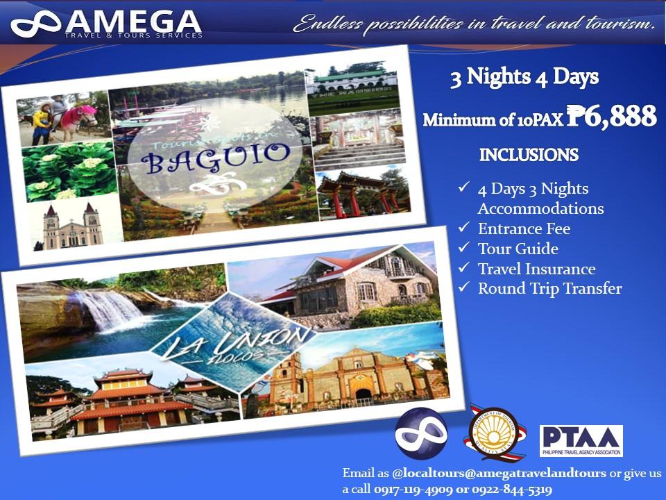 Baguio & La Union Tour