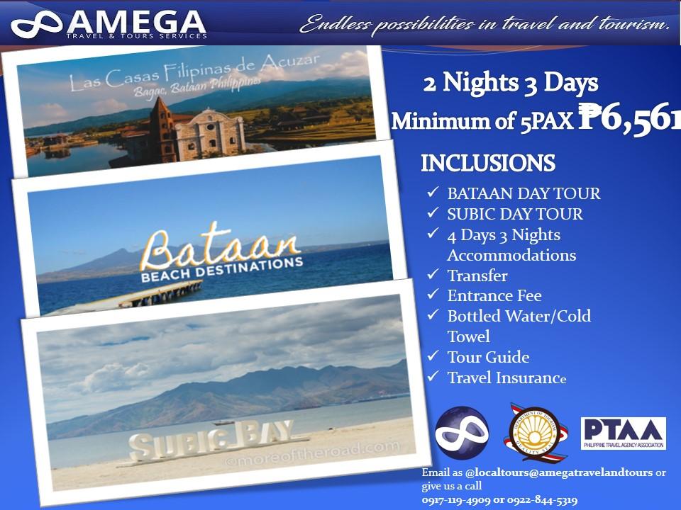 Bataan & Subic Day Tour