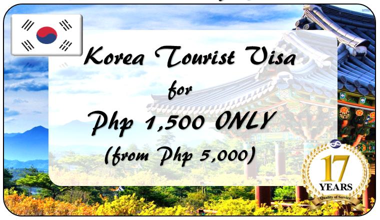 Korea Tourist Visa Promo