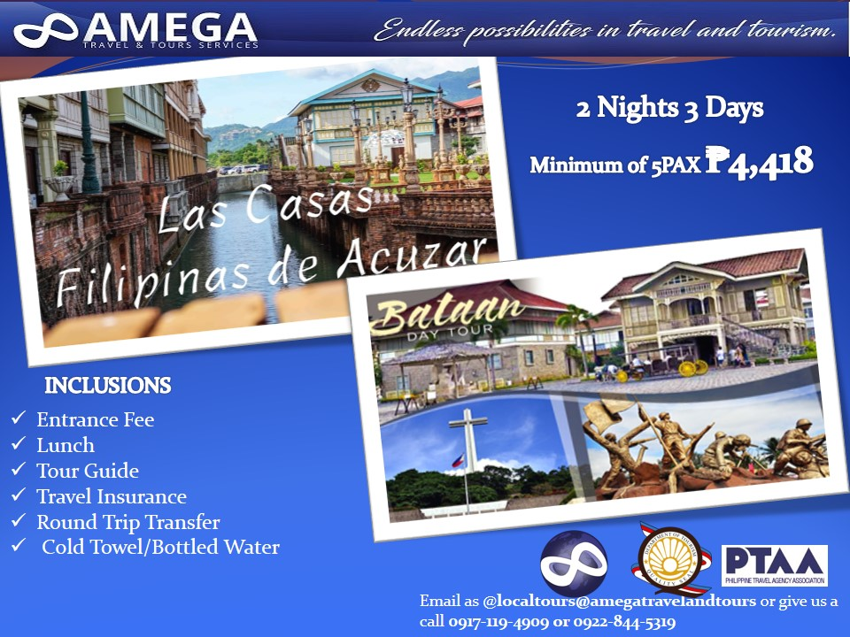 Las Casas Filipinas de Azucar & Bataan Day Tour