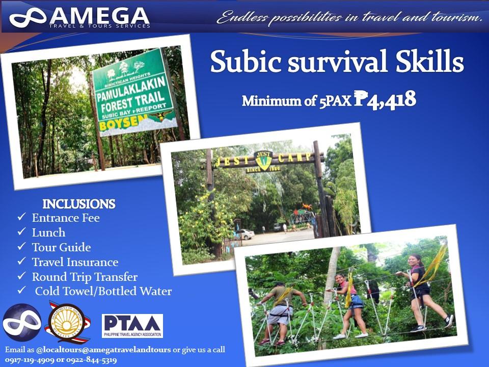 Subic Survival Skills