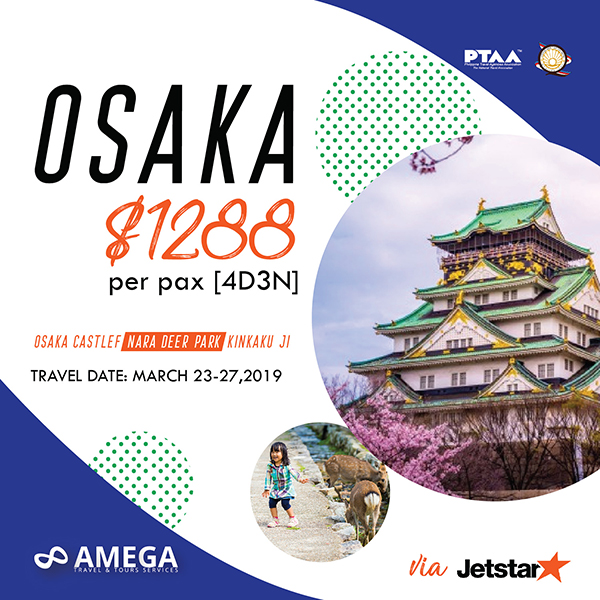 Osaka Tour Package