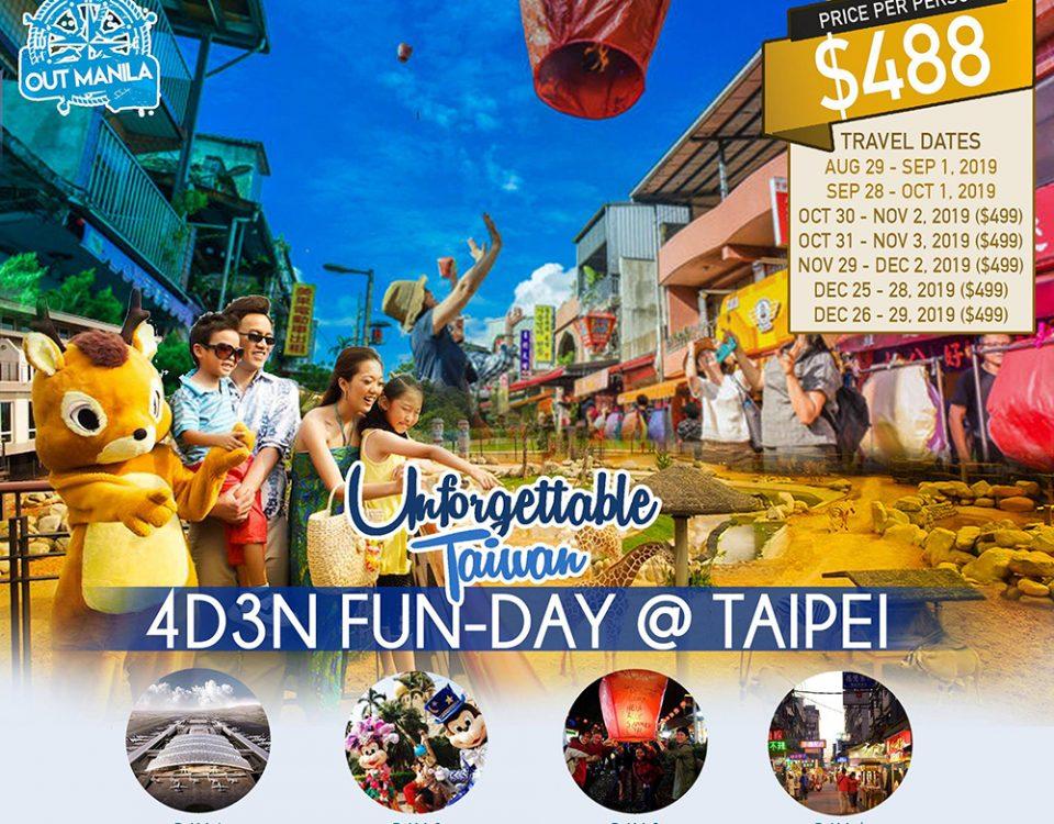 4D3N Fun-day Taipei