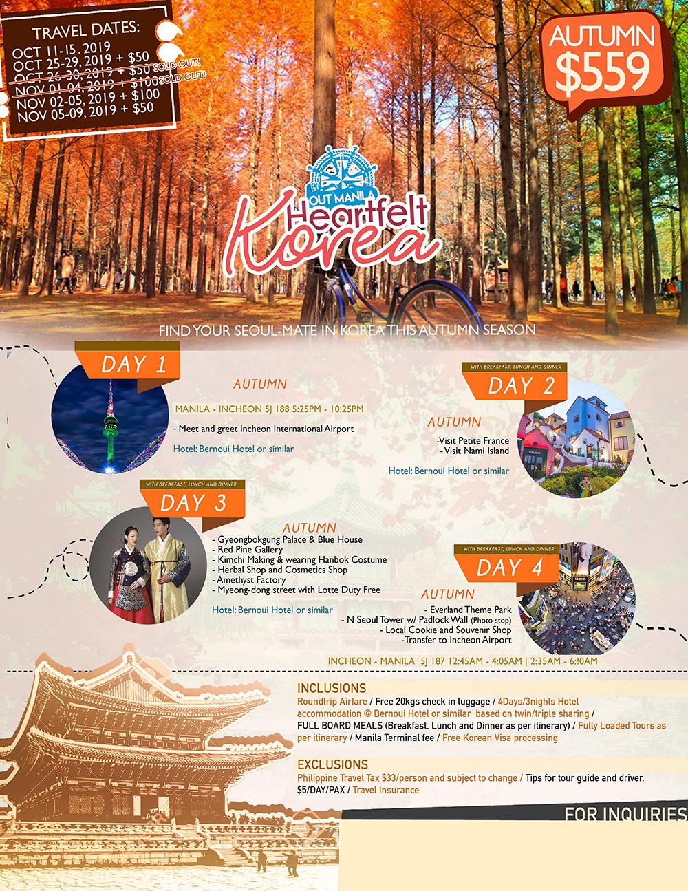 Heartfelt Korea - Autumn